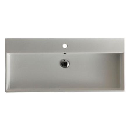 0.75 Bath Sink - WS Bath Collections Unlimited 90 Wall Mount Bathroom Sink