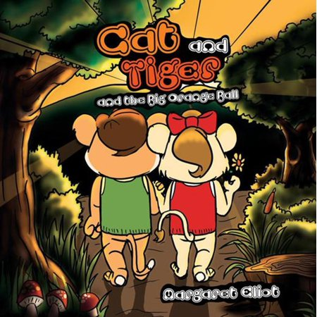 Cat and Tiger and the Big Orange Ball - eBook