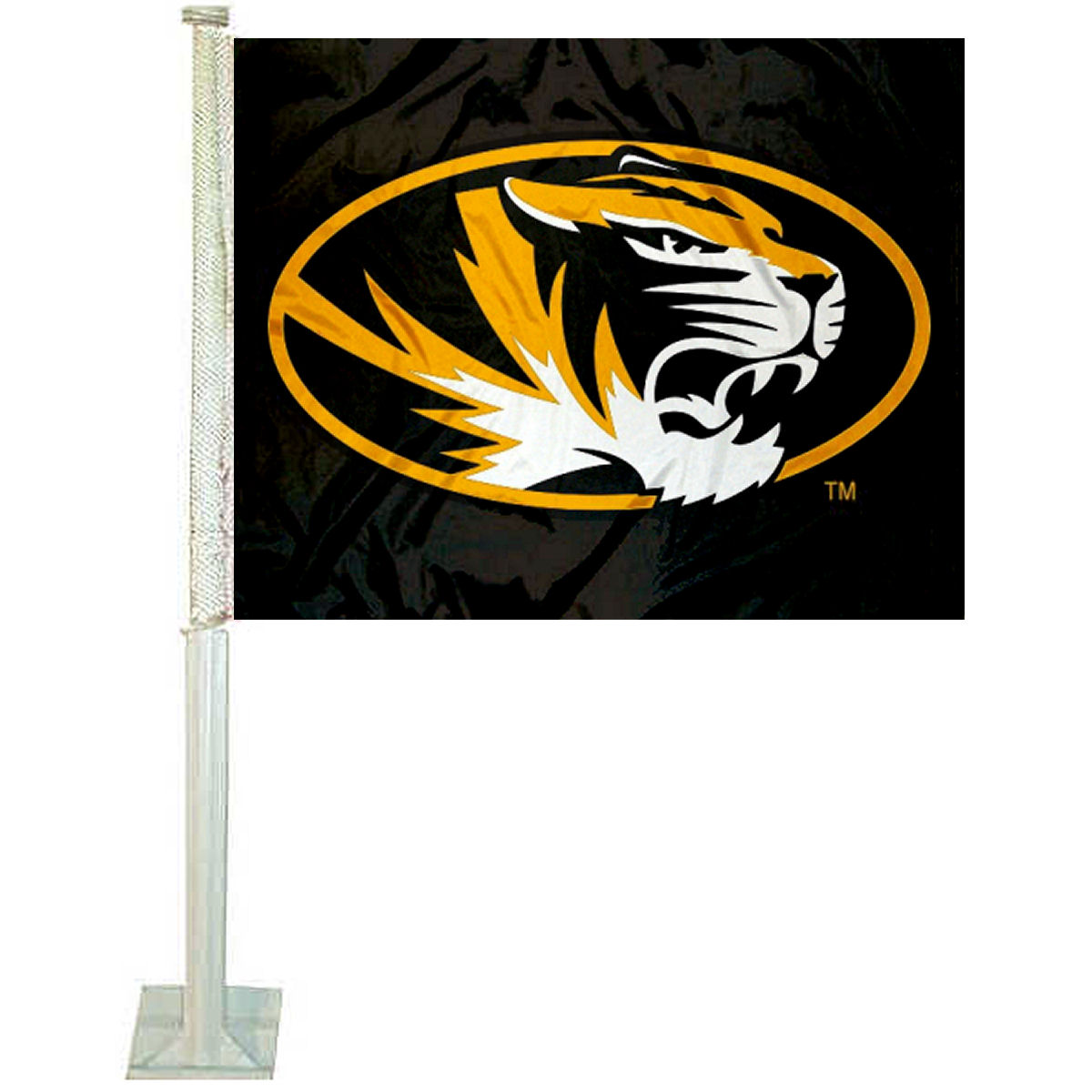 "University of Missouri 12"" x 15"" Car Flag"