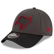 Tampa Bay Buccaneers New Era Youth 2021 NFL Sideline Home 9FORTY Adjustable Hat - Pewter/Black - OSFA