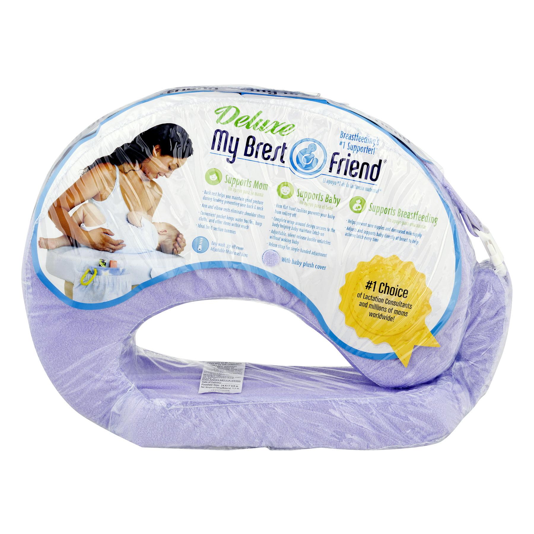 My Brest Friend Deluxe Nursing Pillow, Lilac Purple, 1.0 CT by My Brest Friend