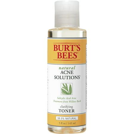 Burt's Bees Natural Acne Solutions Clarifying Toner, Face Toner For Oily Skin, 5 (Good Toner For Sensitive Acne Prone Skin)