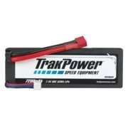 TRAKPOWER LiPo 2S 7.4V 7200mAh 80C Hard Case Deans TKPC0520 Multi-Colored