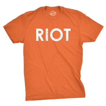 d1c51ad6510 Crazy Dog Funny T-Shirts - Riot T shirt Funny Shirts for Men Political  Novelty Tees Humor - Walmart.com