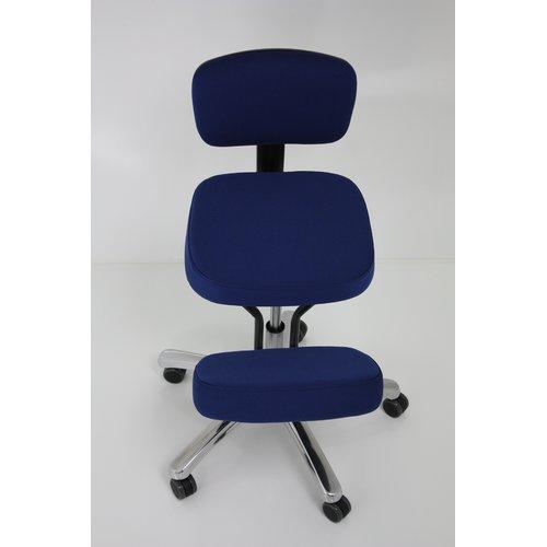 Jobri BetterPosture Jazzy Kneeling Chair, Blue
