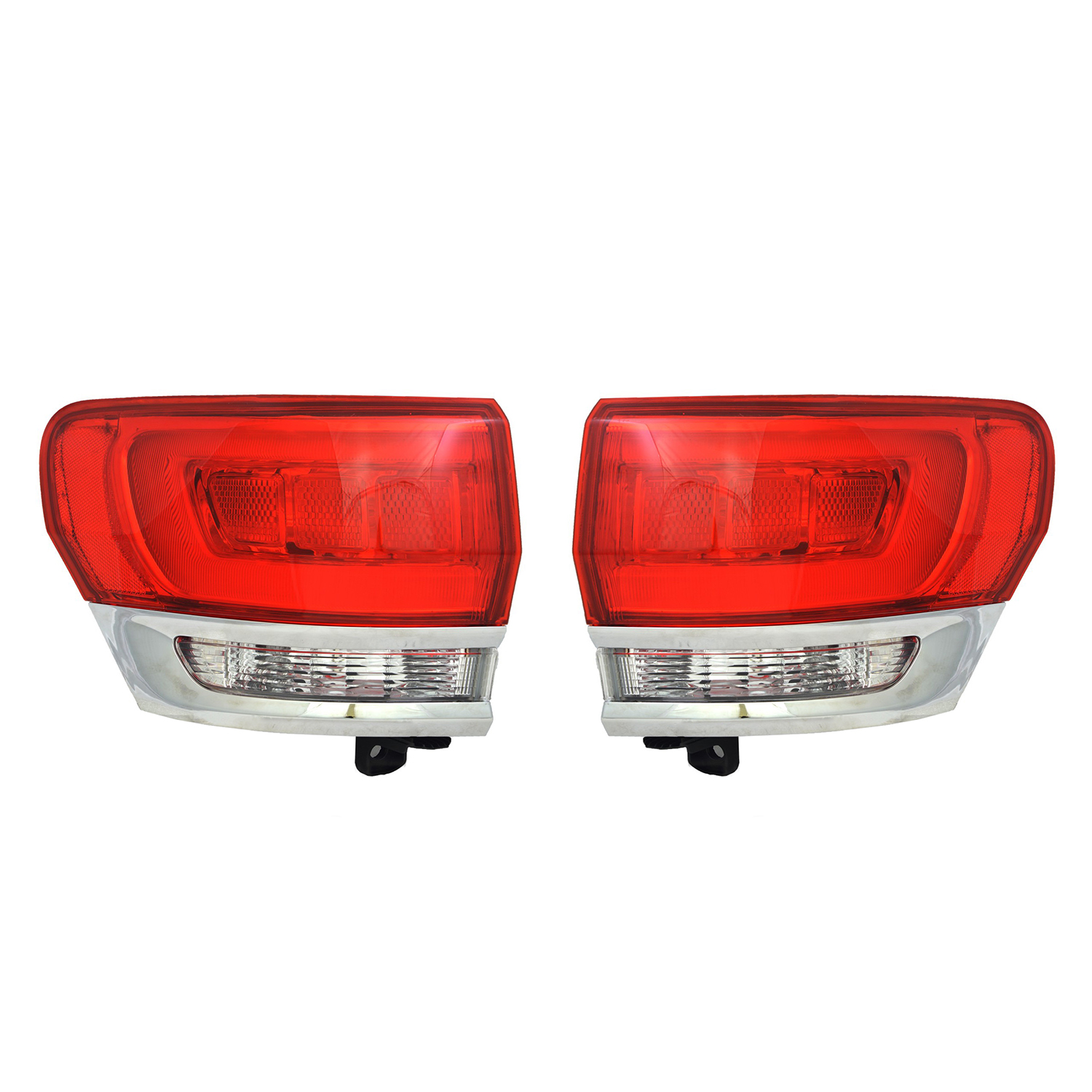 RareElectrical NEW OUTER TAIL LIGHT PAIR FITS JEEP GRAND ...