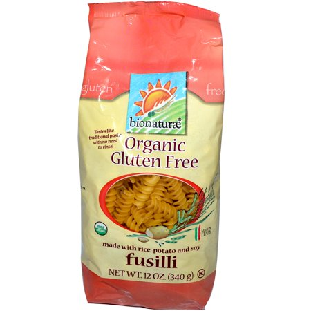 Bionaturae Organic Pasta - Bionaturae, Organic Gluten Free Pasta, Fusilli, 12 oz (pack of 6)