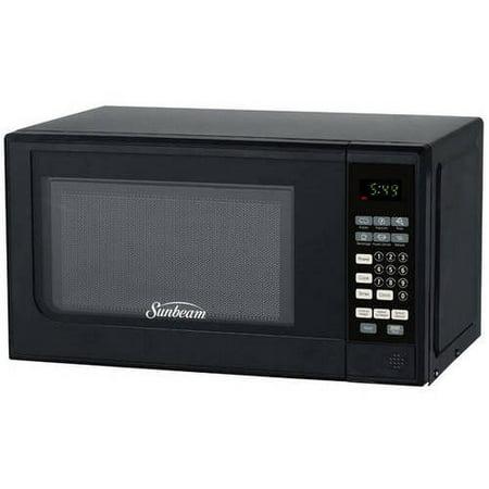Sunbeam 0 7 Cu Ft Digital Microwave Walmart Com