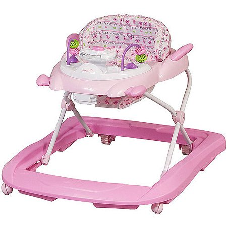 The Safety 1st Sounds 'N Lights Activity Walker provides a safe and fun environment for a baby who can already sit up well. The lights and sounds will entertain the baby, while the secure seat and frame will keep him safe with proper assembly and use.