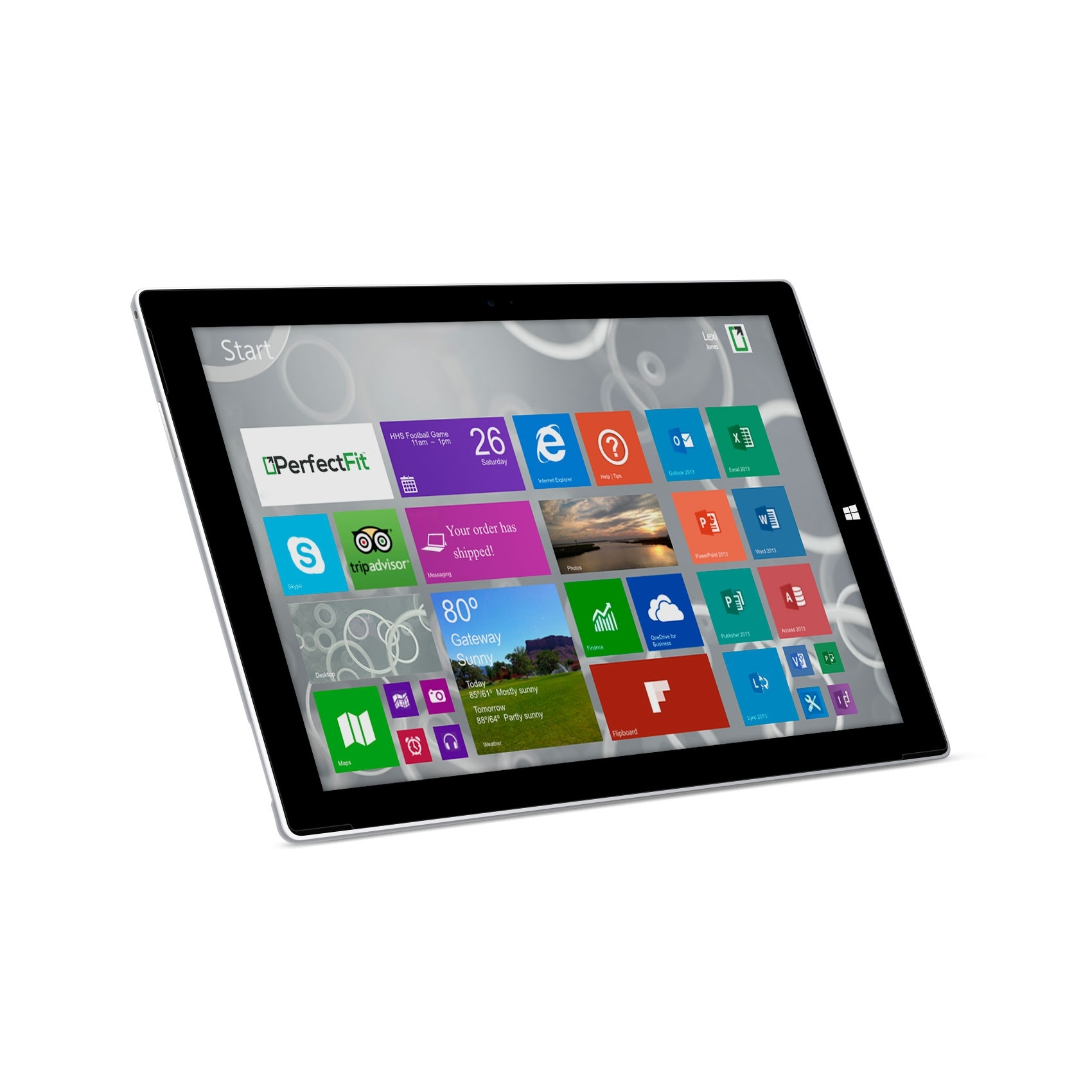 "Microsoft Surface Pro 3 256GB Intel Core i5-4300U X2 1.9GHz 12"",Silver (Certified Refurbished)"