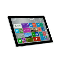 "Microsoft Surface Pro 3 256GB Intel Core i7-4650U X2 1.7GHz 12"",Silver (Certified Refurbished)"