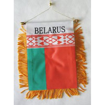 - Belarus Window Hanging Flag