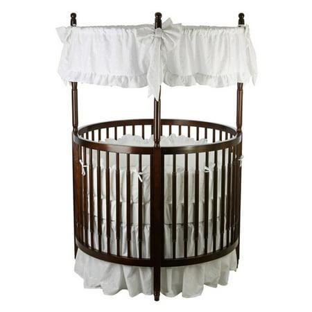 Dream On Me Sophia Posh Circular Crib   Espresso