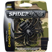Best Braided Fishing Lines - Spiderwire Stealth Camo Braid Super line Fishing Line Review
