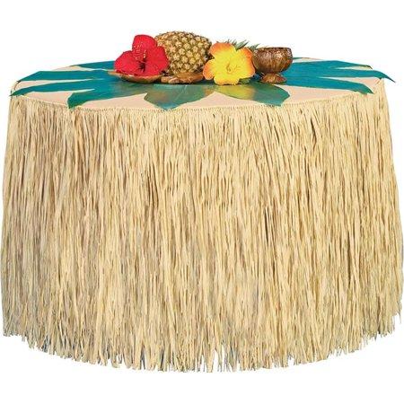 Hawaiian Style Luau Table Cover Skirting (Luau Grass Skirts)