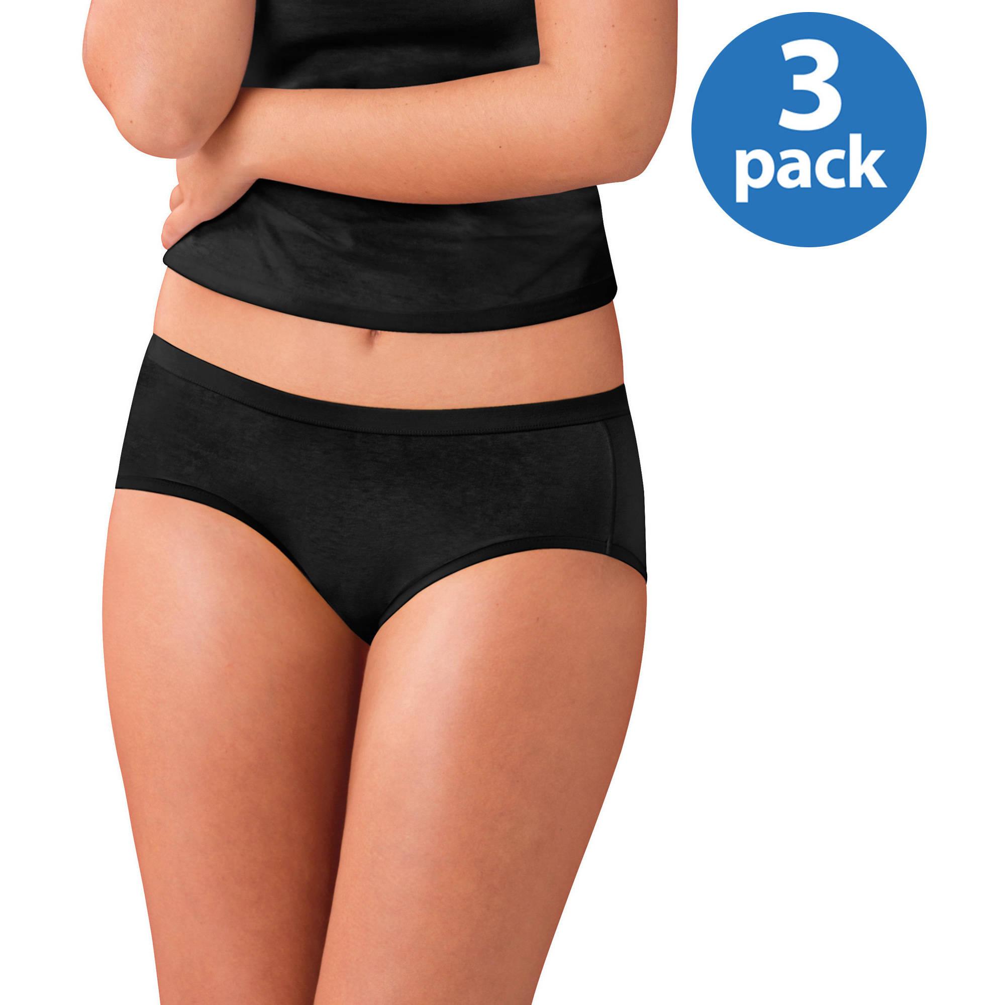 15345c1e6ad7 Hanes - Women's Cotton Cool Comfort Hipster Panties 6-Pack - Walmart.com