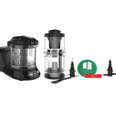Ninja Precision Processor with Auto-Spiralizer - Black (NN310)