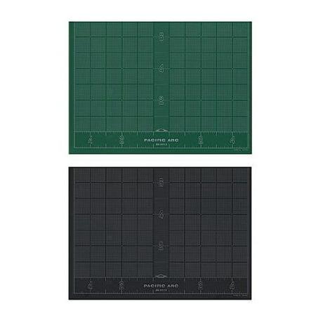 PACIFIC ARC GB0912 CUTTING MAT 9X12 BLACK / GREEN SELF