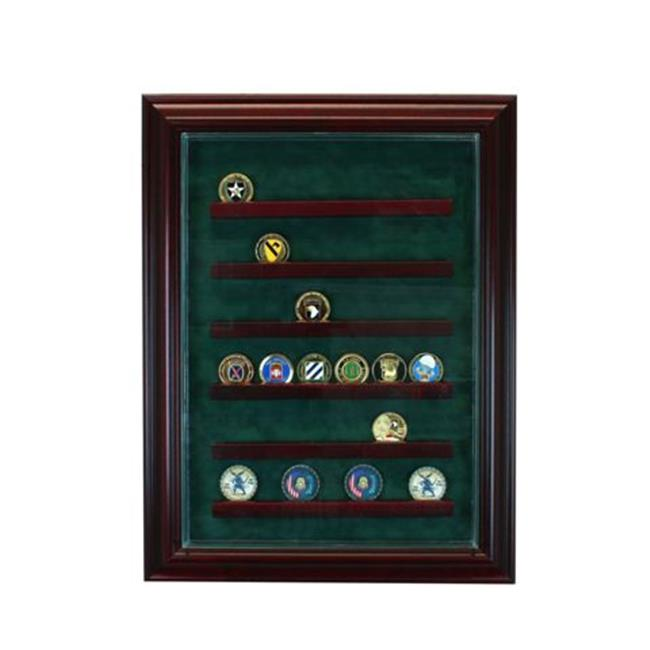 Perfect Cases PC-36COINCB-C 36 Coin Cabinet Style Display...