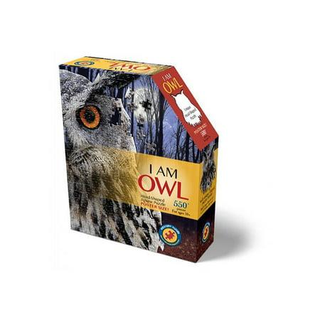 Madd Capp Puzzle - I AM Owl - Owl Puzzle