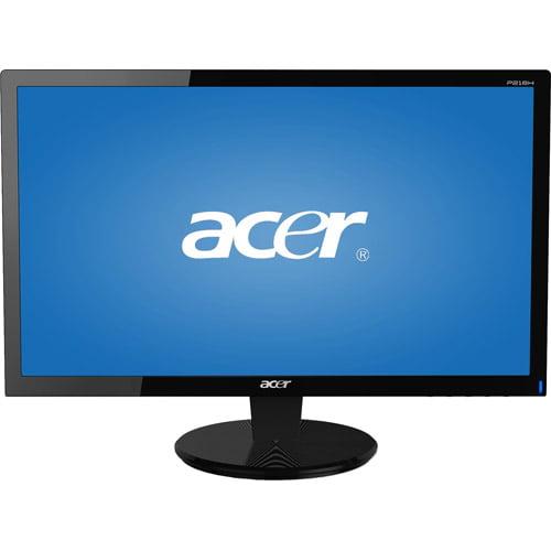 """Acer Refurbished 21.5"""" LED Widescreen Monitor (P216HL Black)"""