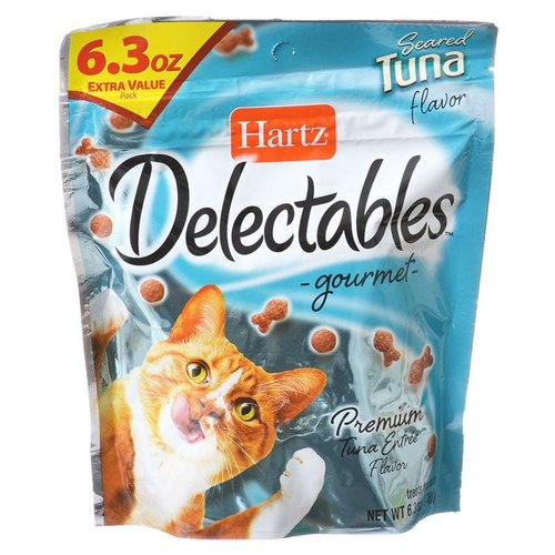 Hartz Delectables Gourmet Cat Treats - Seared Tuna Flavor 6.3 Ounce