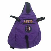 Omega Psi Phi Sling Backpack (BD)