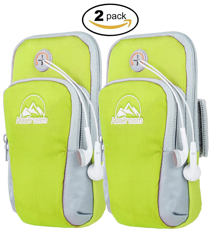 Sports Armband, Running Arm Bag Waterproof Arm Pocket Run...