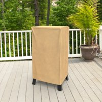 "Budge 29"" W Nutmeg Patio Square Smoker Grill Cover, All-Seasons"