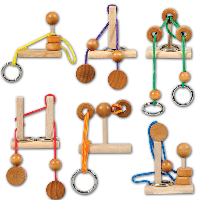 Mini Rope Puzzle (Sold Individually - Styles Vary)