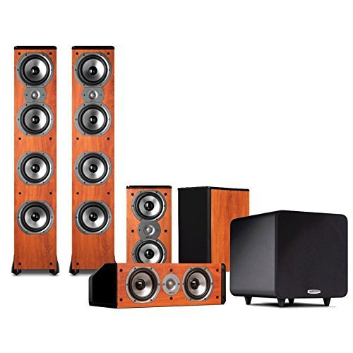 Polk Audio TSi500 5.1 Home Theater Speaker Package (Cherry) by Polk Audio