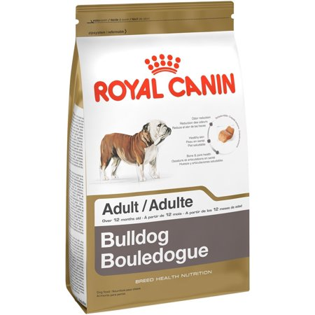 Royal Canin Bulldog Adult Dry Dog Food, 30 lb