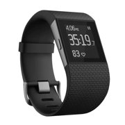 Fitbit Surge Fitness Superwatch, Black, Small []