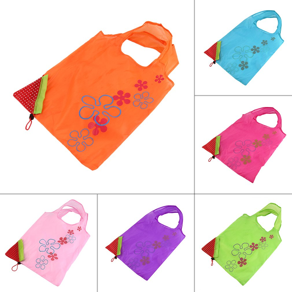 1 pc Strawberry Foldable Shopping Bag Tote Reusable Eco Friendly Grocery Bag On Sale