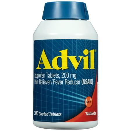 Advil-douleur / fièvre réducteur (Ibuprofen), 200 mg 300 count