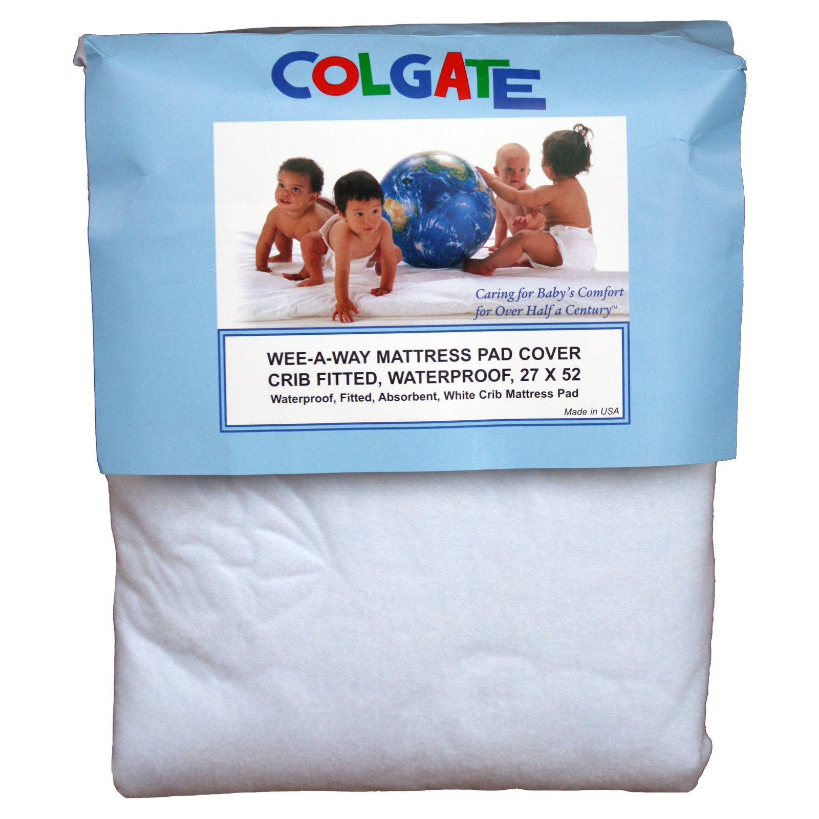 Crib Fitted Waterproof Mattress Cover