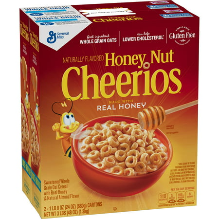 General Mills Honey Nut Cheerios Cereal 24 oz, (General Mills Cocoa)