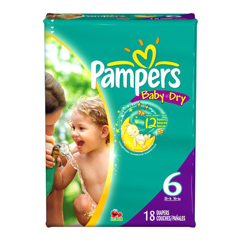 Medline Baby Dry Pampers Diapers Size 6