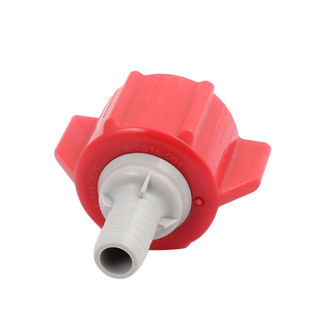"""Connecteur 3/8"""" rouge PT boisson gazeuse Coca Cola Sirop BIB Pack - image 2 de 2"""