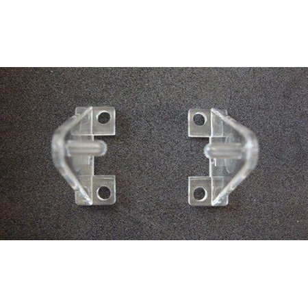 Hold Down Bracket - Hold Down Plastic Bracket For 2 inch Horizontal Blind- Pack of 10 - Clear