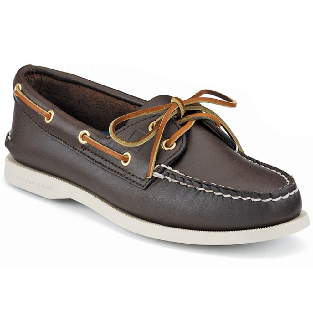New Womens Sperry Top-Sider Authentic Original Boat Shoes Brown Choose Size by Sperry