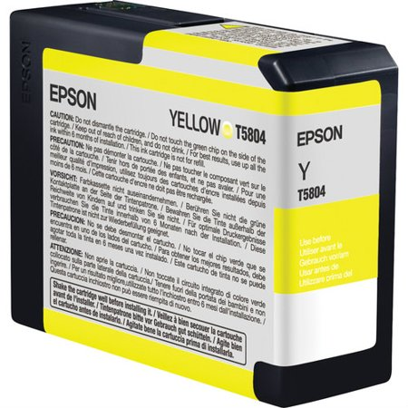Epson Ultrachrome K3 Yellow Ink - Epson UltraChrome K3 Ink Cartridge - Yellow Ink Cartridge