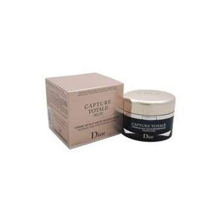 Capture Totale Nuit intensive Crème de nuit réparatrice pour le visage et le cou  (21 oz crème rechargeable) Femmes