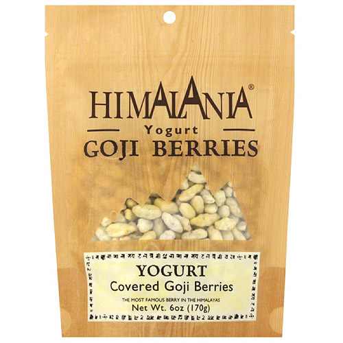 Himalania Yogurt Covered Goji Berries, 6 oz, (Pack of 12)