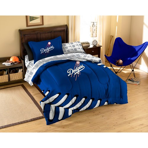 Mlb Applique Bedding Comforter Set With