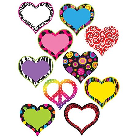 Teacher Created Resources 5100 Fancy Hearts (Fancy Accents)