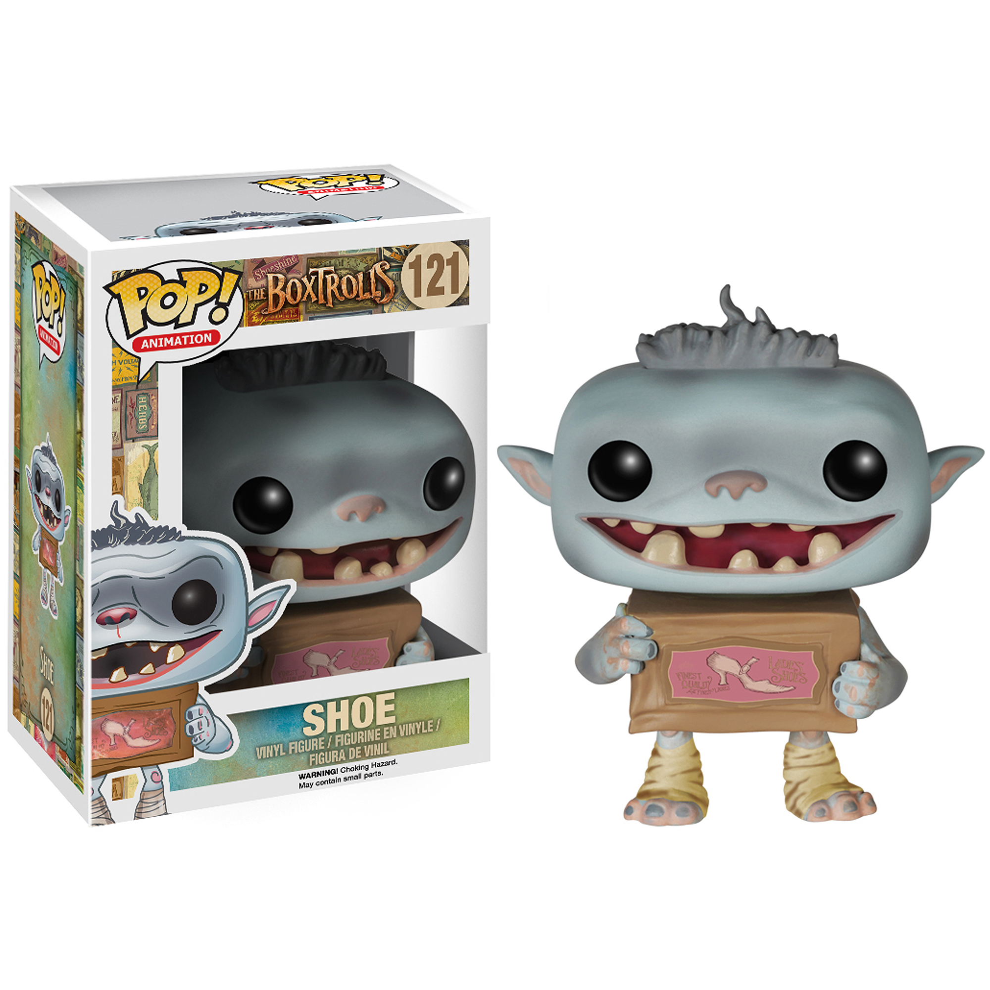Funko Universal Studios The Boxtrolls Shoe Pop Vinyl Figure