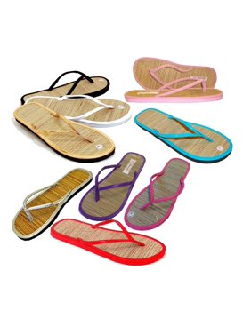 c6ce518bf Product Image 3 pairs - Assorted Bamboo Sandals