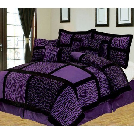 Luxurious 11 Piece Micro Suede Winter Soft Comforter Set Bed In A
