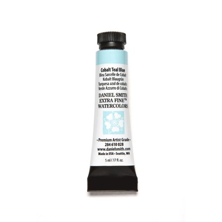 Daniel Smith Extra Fine Watercolor, 5 ml, Cobalt Teal Blue